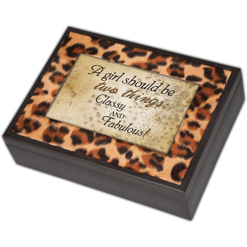 Cottage Garden Digital Two Things Leopard Music Box