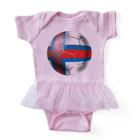 CafePress - Faroe Islands Soccer Ball - Cute Infant Baby Tutu (Faroe Islands Ships)