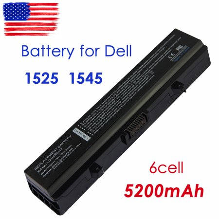 CBD 11.1v High Performance replacement Dell laptop battery for Dell Inspiron 1525 1526 1545 1440 1750 Vostro 500 312-0625 312-0634 and (Laptop Battery Replacement For Dell Inspiron 1525)