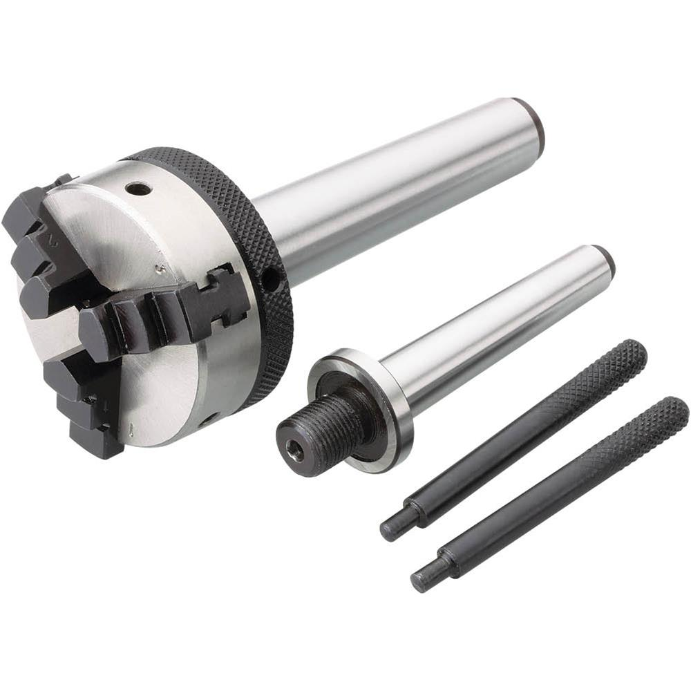 Grizzly H5934 Mini Lathe Chuck w/ Arbors