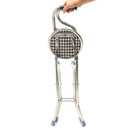 Moaere Walking Stick Chair Combo Folding Walking Cane