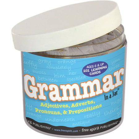 Grammar In a Jar® - Grammar Review Games