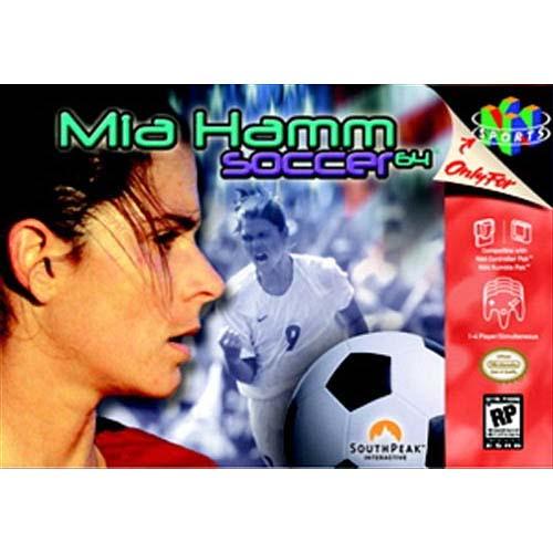 Mia Hamm Soccer 64 N64