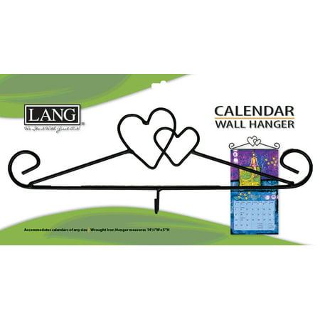 - LANG HEART CALENDAR HANGER