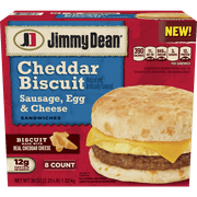 Jimmy Dean Jd Sausage, Egg & Cheese Cheddar Biscuit