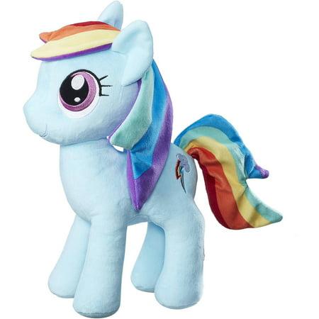My Little Pony Friendship is Magic Rainbow Dash Cuddly Plush](Rainbow Dash Plush)