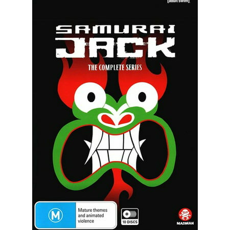 Samurai Jack: The Complete Series (DVD)