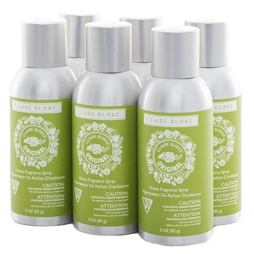 Claire Burke Vapourri Home Fragrance Spray 3 Oz. Box of 6...