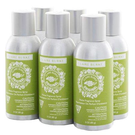 Claire Burke Vapourri Home Fragrance Spray 3 Oz  Box Of 6   Original