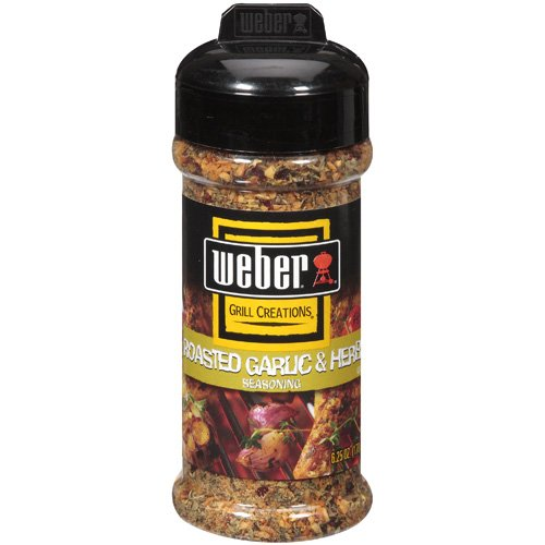 Weber Grill Creations Roasted Garlic And Herb Seasoning, 6.25 oz