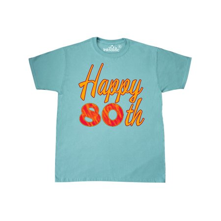 Happy 80th Birthday T Shirt
