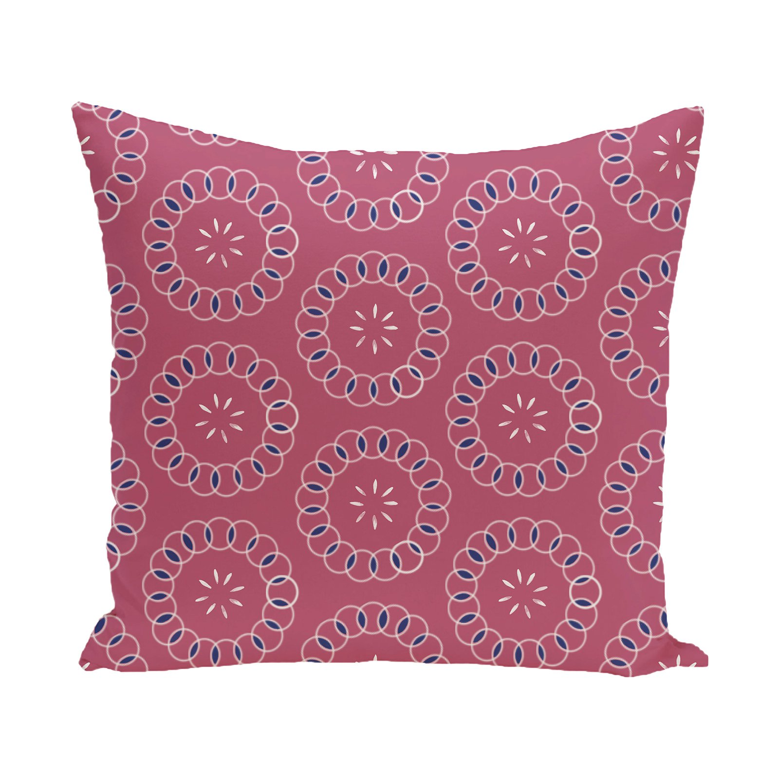 E by Design Happiness Decorative Pillow