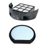 HEPA Filter + Foam Filter for Hoover T Series Windtunnel Vacuum Cleaners (compares to 303172001, 303173001). Genuine Green Label Product.
