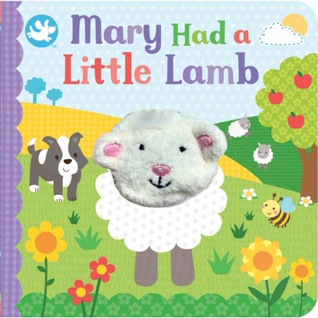 Mary Had a Little Lamb Finger Puppet Book