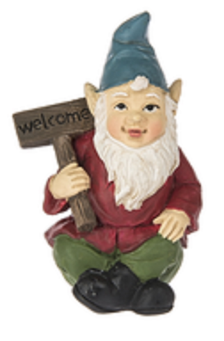 Fairy Garden Gnome Figure: Welcome Sign By Ganz by