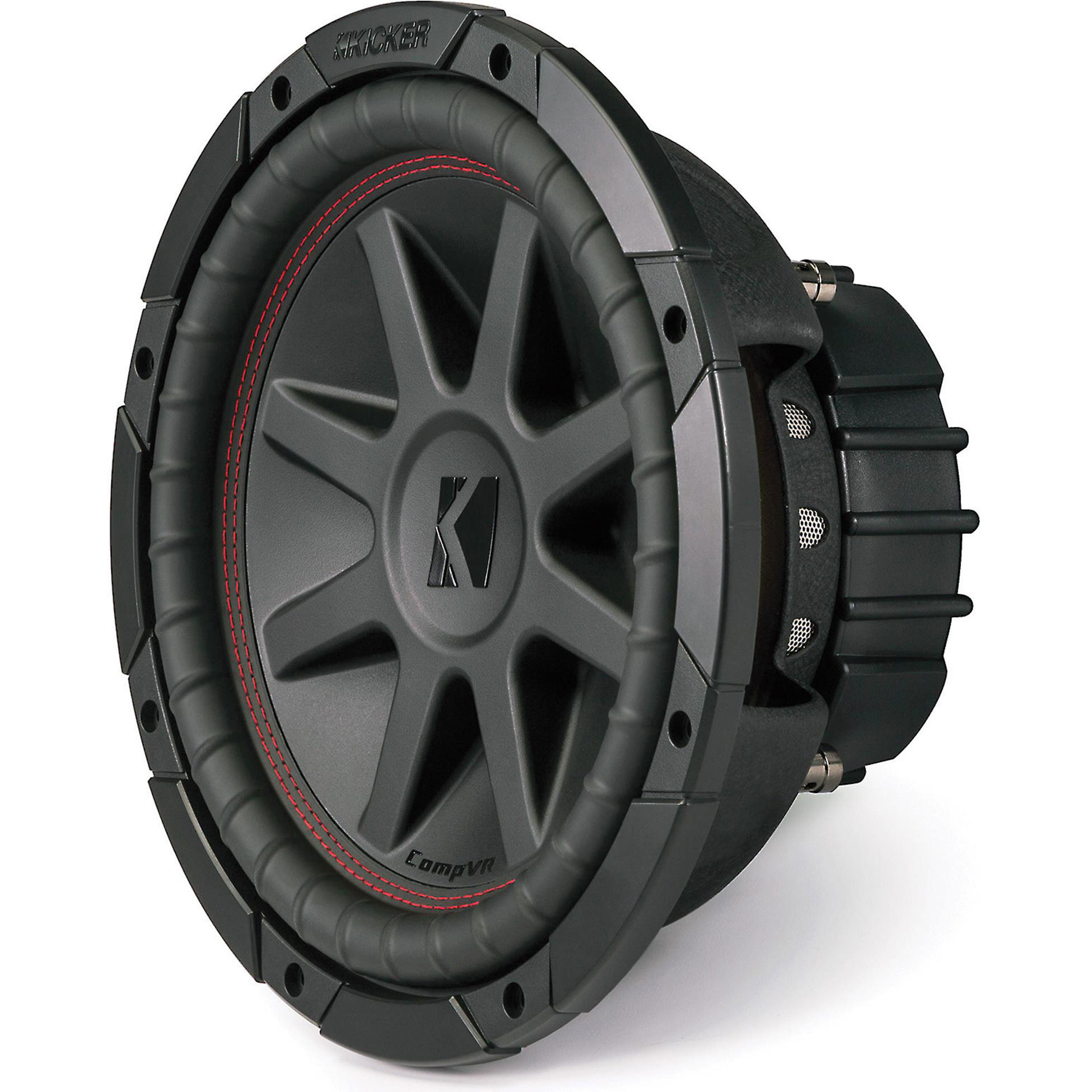 "Kicker 43CVR104 10"" subwoofer with dual 4-ohm voice coils"