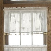 Heritage Lace Dragonfly Valance with Trim