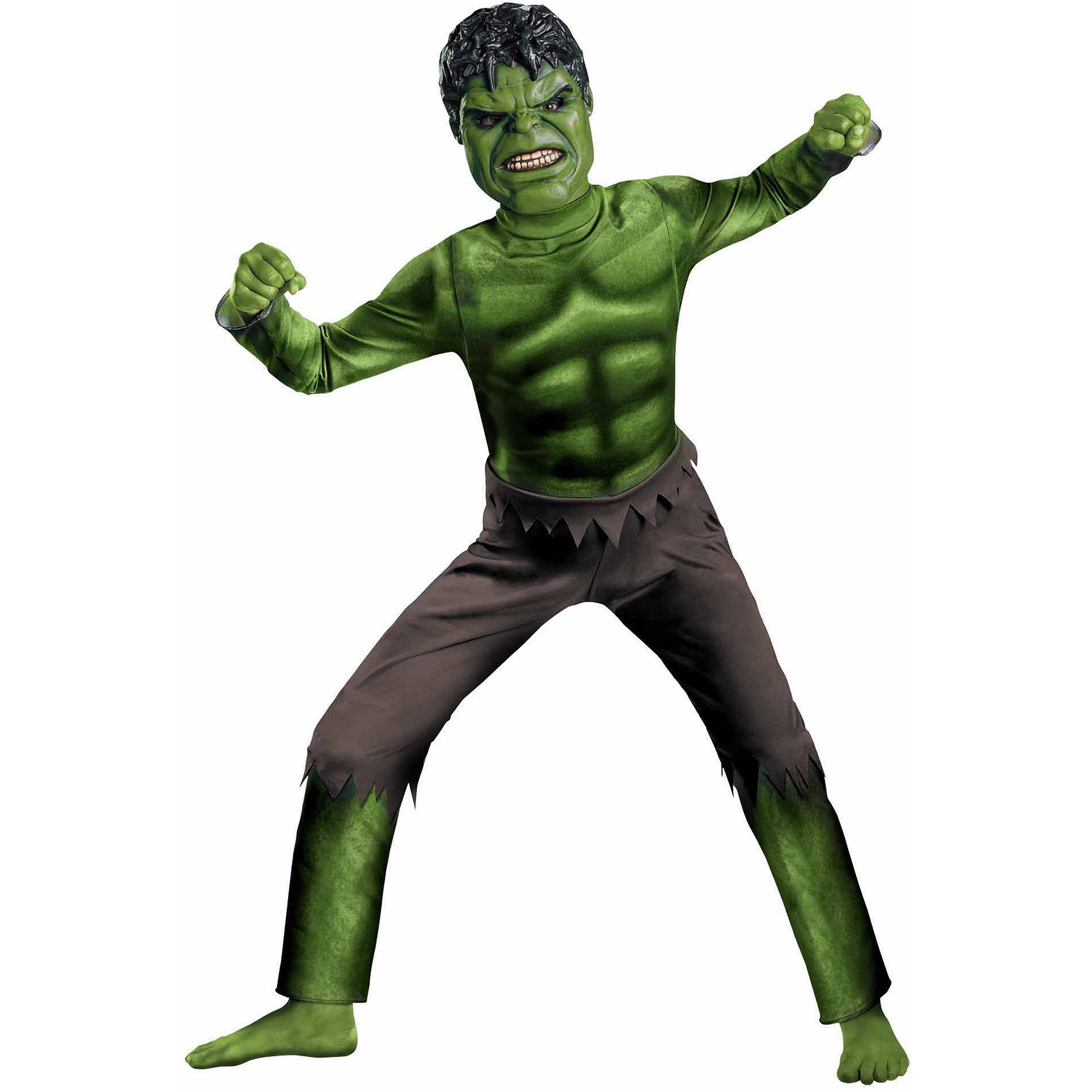 Hulk Avengers Child Halloween Costume