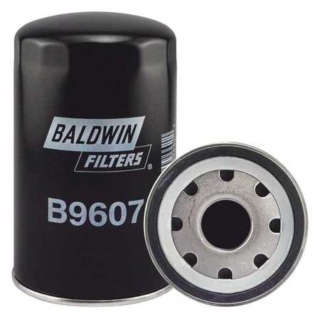 BALDWIN FILTERS B9607 Oil Filter,7-5 16 in. Lx4-11 32 in. dia. G1582275 by Baldwin Filters