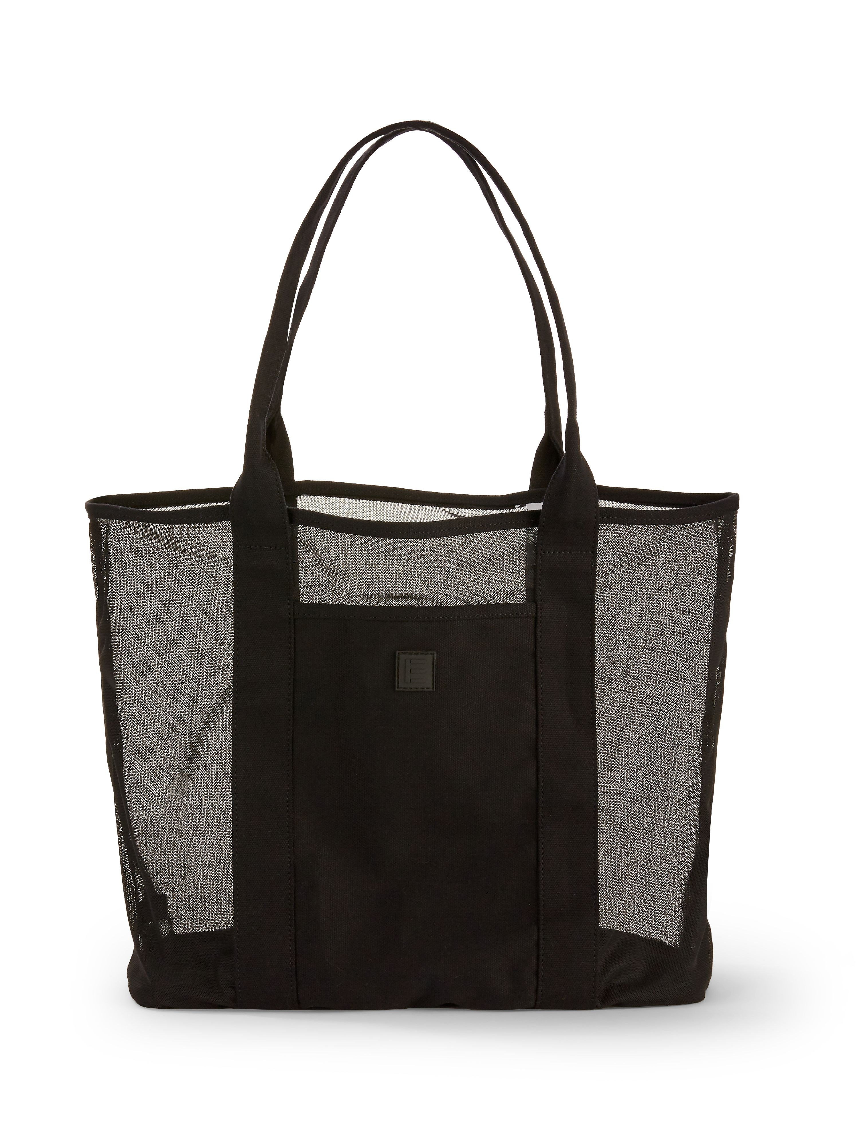 Large Black Beach Tote
