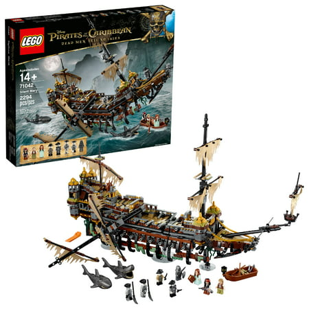 LEGO 6174890 Pirates of the Caribbean Silent Mary 71042 Building Kit Ship](Lego Pirate Set)