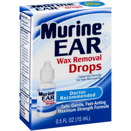 3 Pack - Murine Ear Wax Removal Drops 0.50 oz