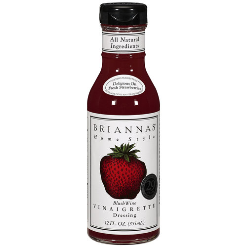 Brianna's Blush Wine Vinaigrette Dressing, 12 oz