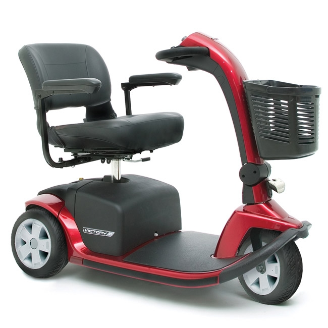 Pride Mobility SC610 Victory 10 3-Wheel Scooter - Viper Blue