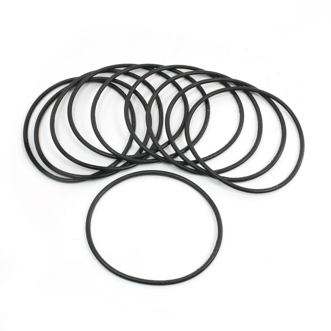 Replacement Flexible Industrial Rubber Oil Seal O Rings 72.3x2.65mm 10 Pcs