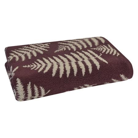 Sanderson Fern Jacquard Cotton Bath Towel