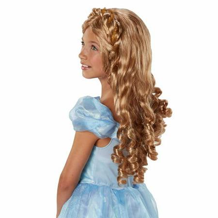 Disney Princess Cinderella Live Action Royal Locks Wig