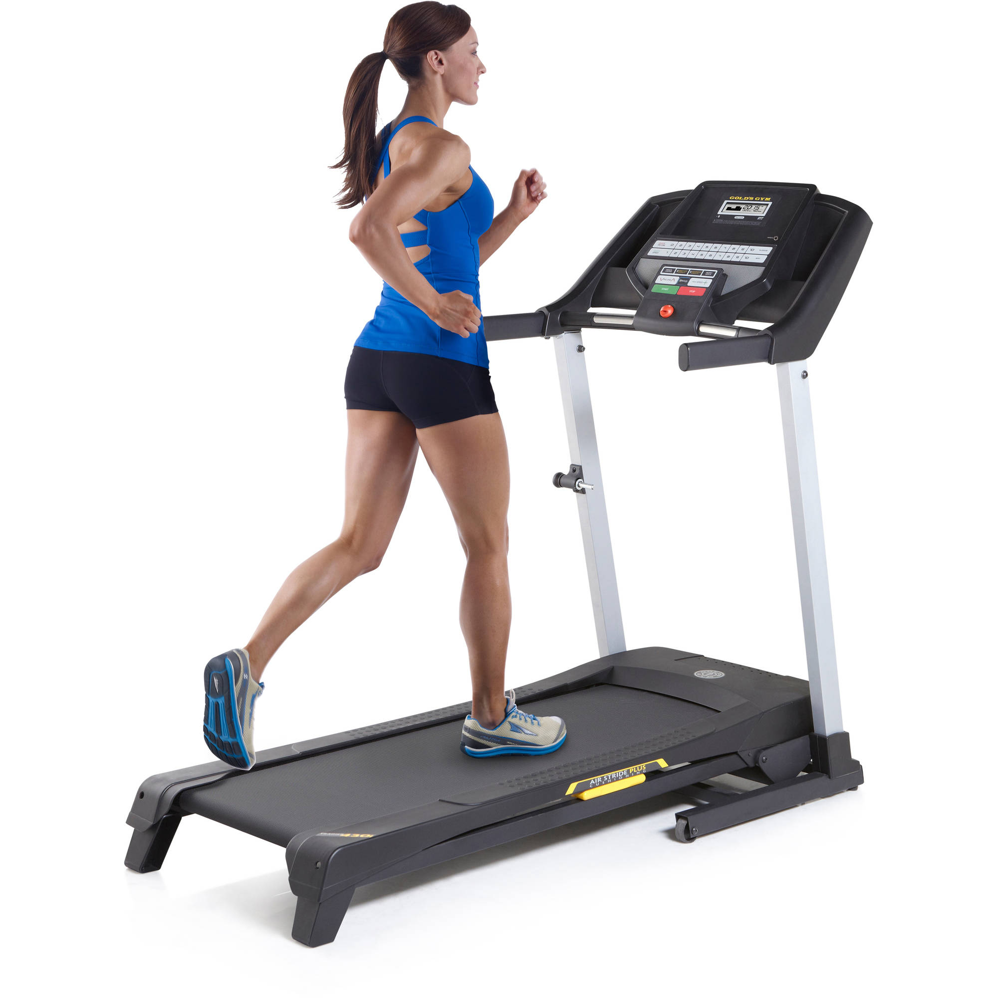 Gold's Gym Trainer 430i Treadmill with Easy Assembly and Power Incline -  Walmart.com