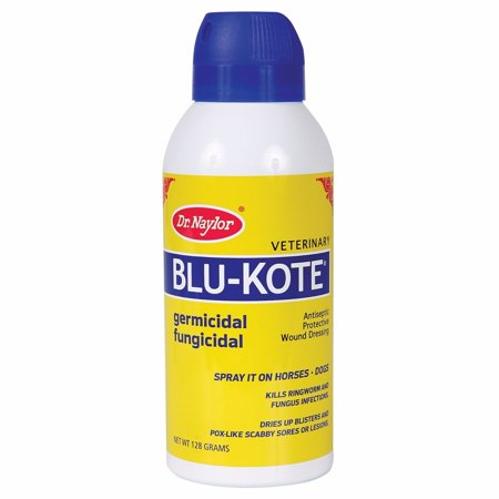 Blu-Kote Spray Blue Lotion Dressing Horse  Dog 5oz Antiseptic & Protective Wound ()