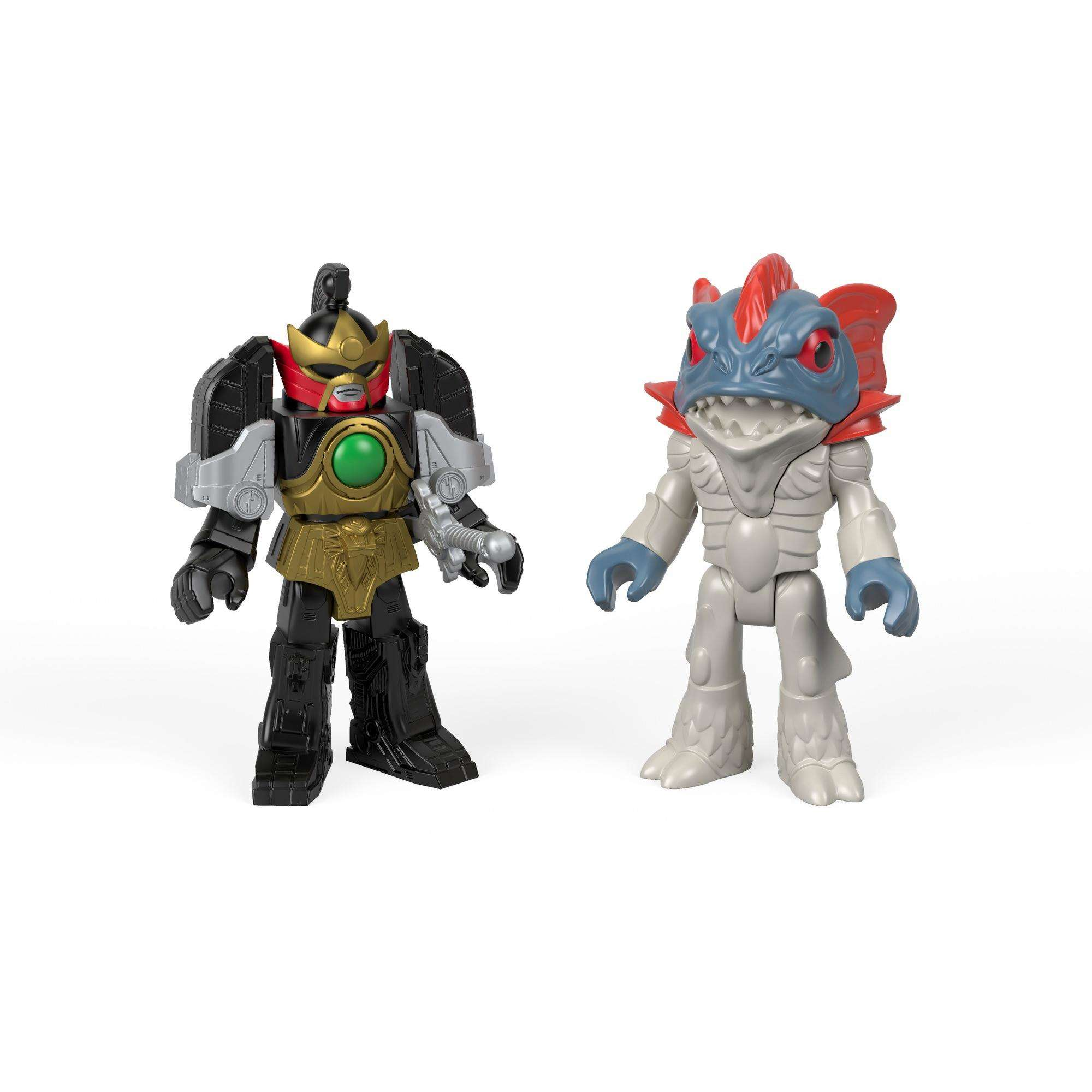 Imaginext Power Rangers Thunder Megazord & Pirantishead