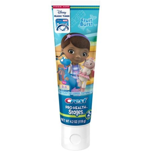 Crest PH Stages - Doc McStuffins Kids Fruit Burst Toothpaste 4.2 oz
