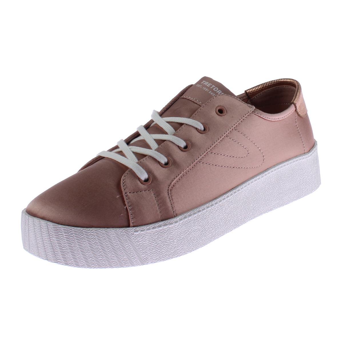 Tretorn Womens Blaire7 Satin Casual Fashion Sneakers by Tretorn