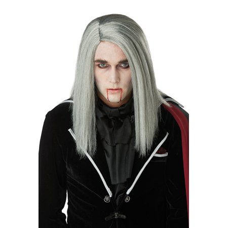 Mens Vampire Wig (Sleek Vampire Adult Wig)