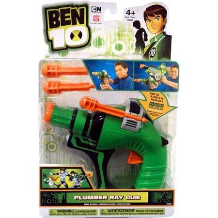 Toy Machine Guns (Ben 10 Tech Gear Plumber Ray Gun Roleplay)