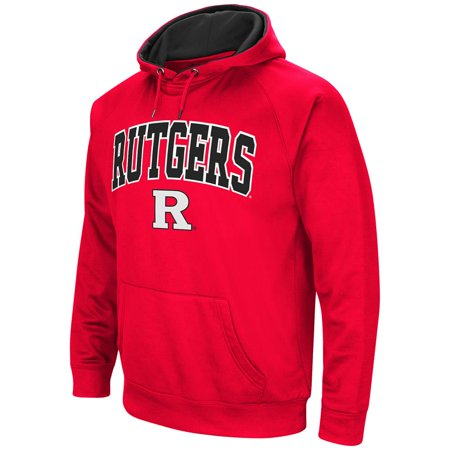 Mens Rutgers Scarlet Knights Fleece Pull Over Hoodie