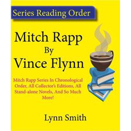 Vince Flynn Mitch Rapp Series Reading Order: Mitch Rapp Series In chronological Order, All Collector
