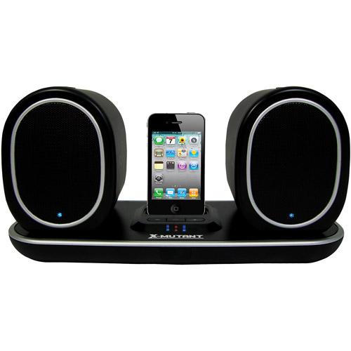 Mutant Media Ellipse Wireless Indoor Outdoor Speakers with iPod / iPhone Docking