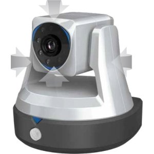 Swann SwannCloud HD SWADS-446CAM Network Camera - Color - 1280 x 720 - Wireless, Cable - Wi-Fi - Ethernet WRLS SECURITY CAMERA W/SMART - Swann Wireless Cameras