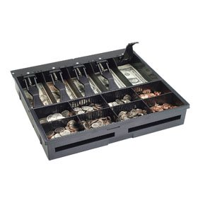 MMF, ACCESSORY, US CASH TRAY/TILL, 5 BILL 8 COIN, FOR 16 INCH WIDE VALU-U LINE