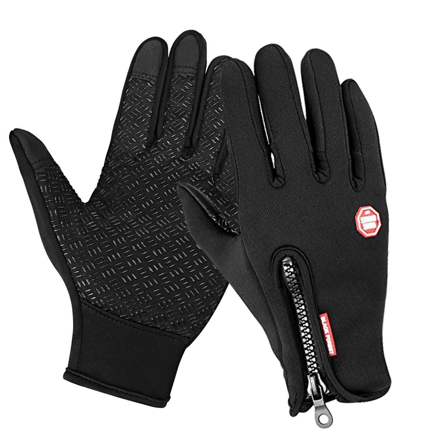 Unisex Touchscreen Gloves M/ L/XL Texting Driving Fleece Lining for Riding GOGBY