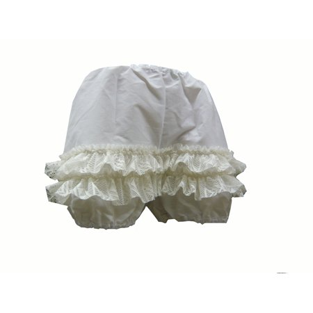 Bloomers Short Women's Costume Knickers White 1815 - Extra Small](Costume Knickers)