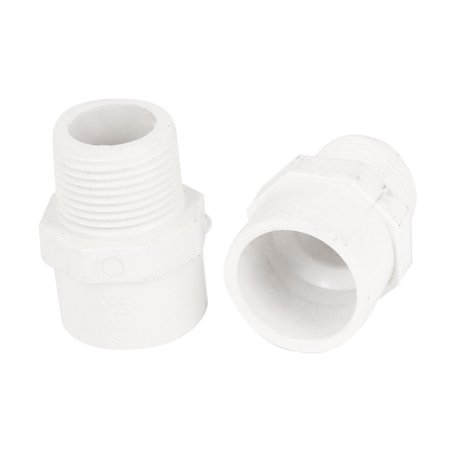 Pipe Thread Connector (Unique Bargains 2pcs 3/4