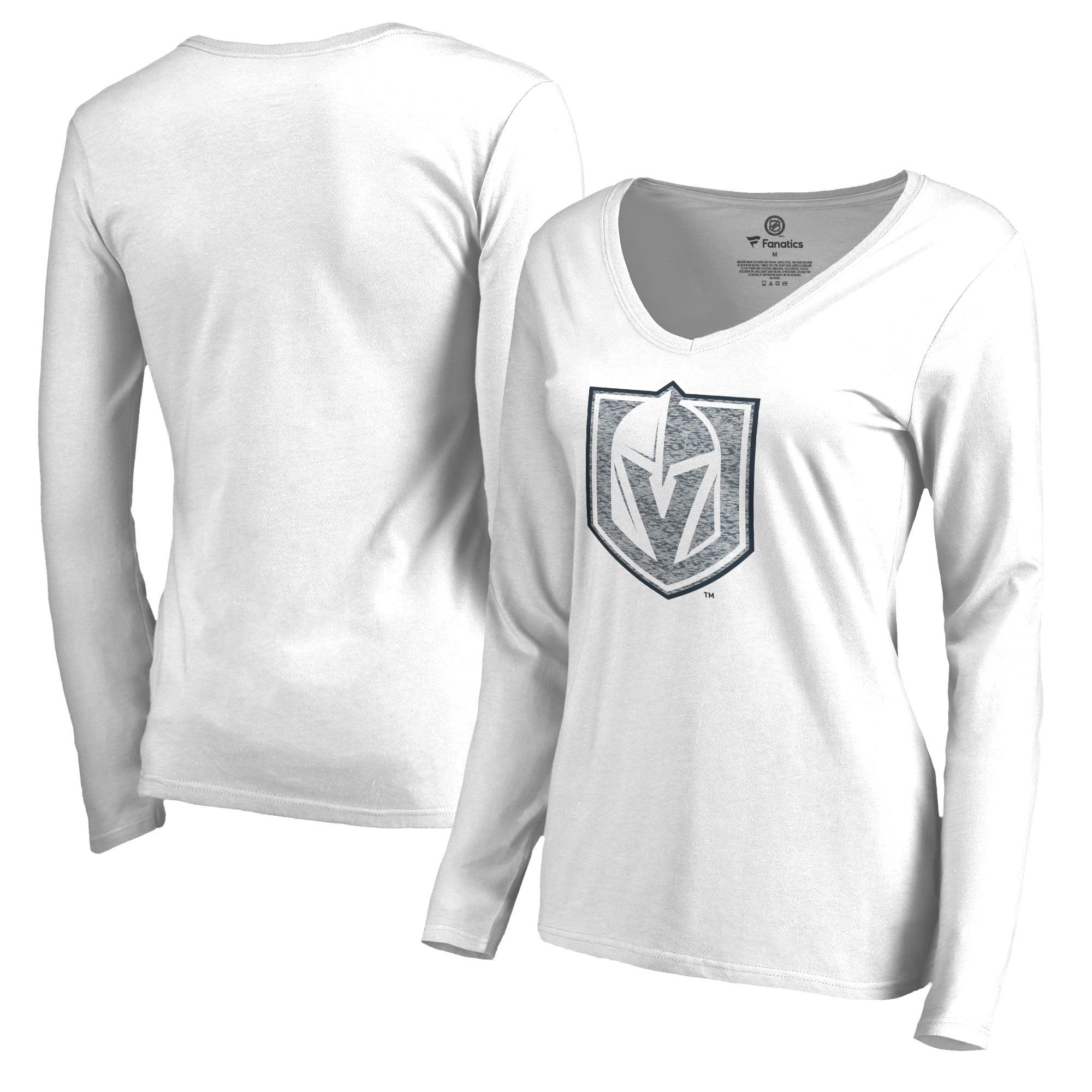 Vegas Golden Knights Fanatics Branded Women's White Out Long Sleeve T-Shirt White by Football Fanatics/Ruppshirts