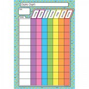 13 x 19 in. Emoji Chores Smart Poly Chart Poly
