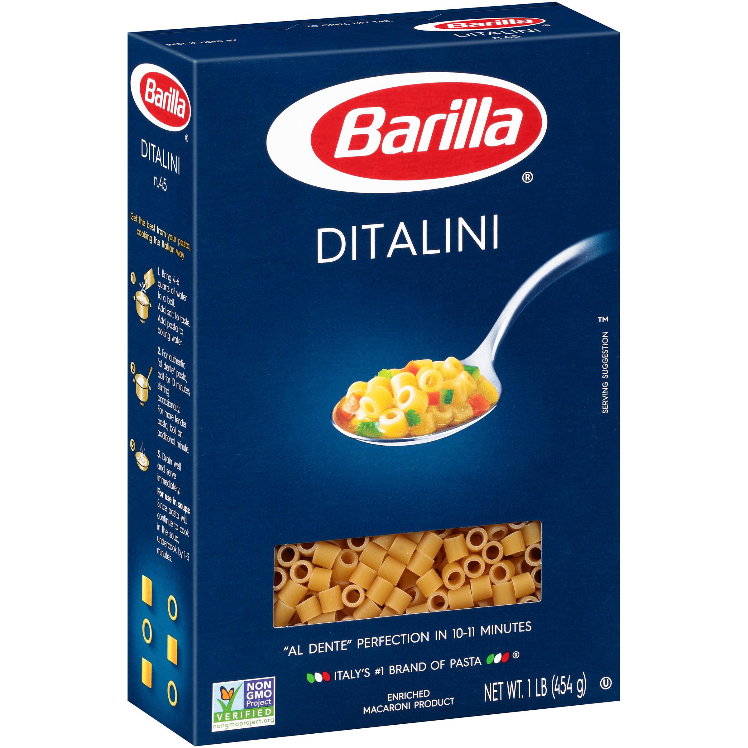 Barilla Ditalini Pasta 1 lb. Box by Barilla America, Inc.