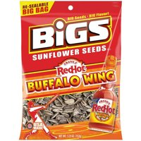 BIGS Sunflower Seeds, (Pack of 12), Multiple Flavors and Bag Sizes Available